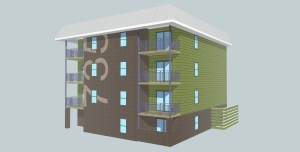 1214 Bldg Model~ALT COLOR