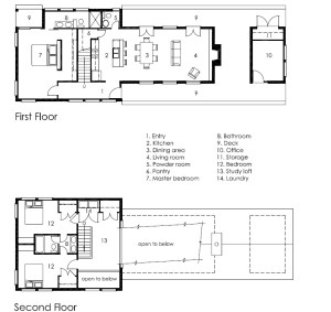 Lake House Plan