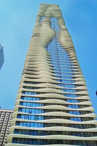 Aqua Tower in Chicago