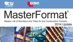 masterFormat-CSI-CSC-2014-Update