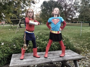 Wonder Woman and Super Woman