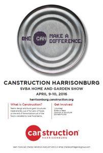 Canstruction Harrisonburg