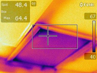 insulate attic access