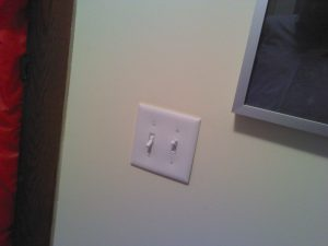 energy audit light switch