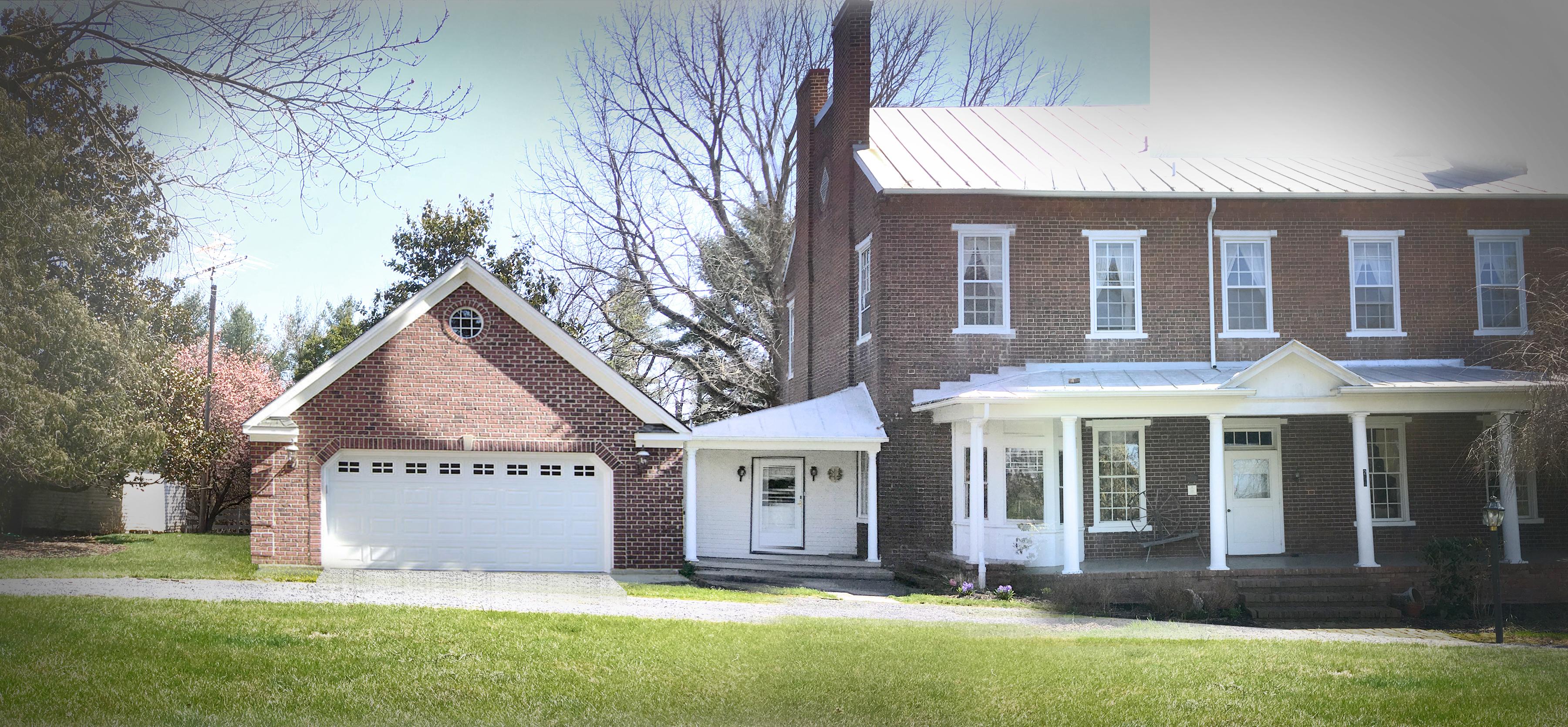 historic home garage addition study - Garage Addition