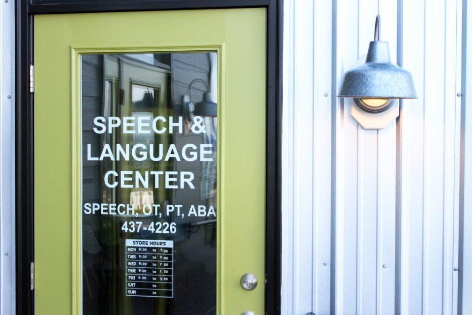 speech and language center