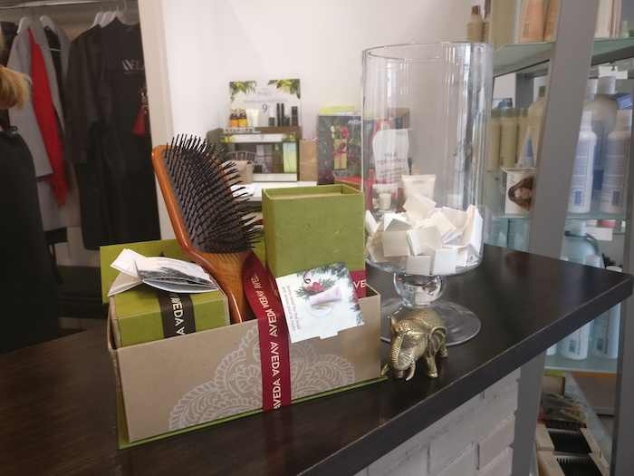 Productos AVEDA sorteados en THE GALLERY of beauty (Alcobendas)