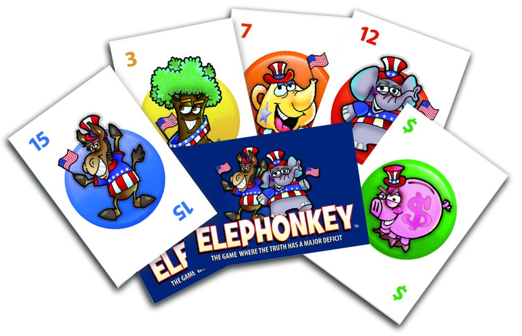 Elephonkey: Peggy Brown talks about her humorous new politics-themed (but not political) game