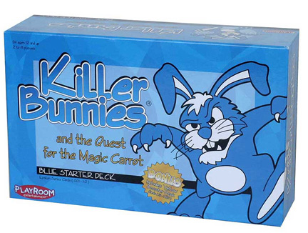 Killer Bunnies Blue Box