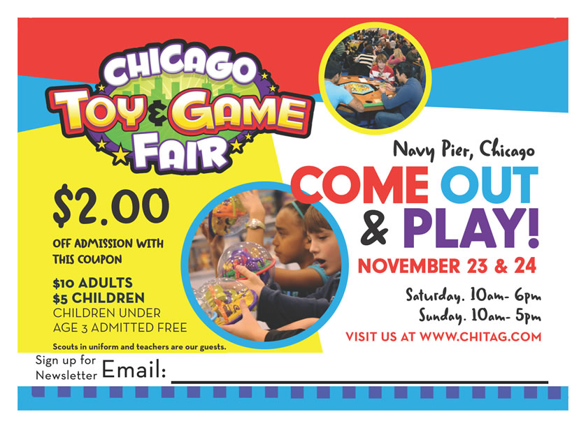 2013 ChiTAG Preview: GAMES!