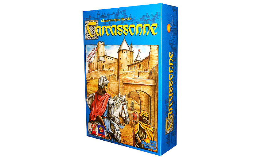 Carcassonne: One of my FAVORITE 2-Player Games