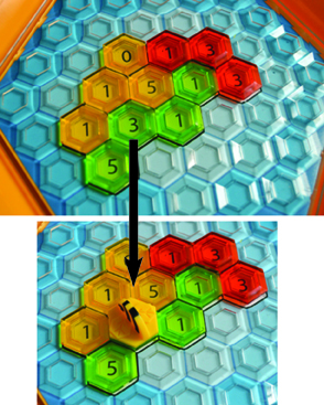 Hex Hive Adding A Bee
