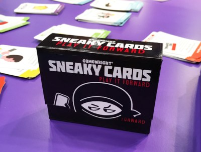 Toy Fair 2015: Sneaky Cards from Gamewright