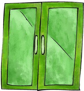 Elegant The SECRET To Green Glass Doors