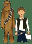 Pictionades (pictionary meets charades): Star Wars version