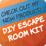 Check out my new DIY Escape Room Package!