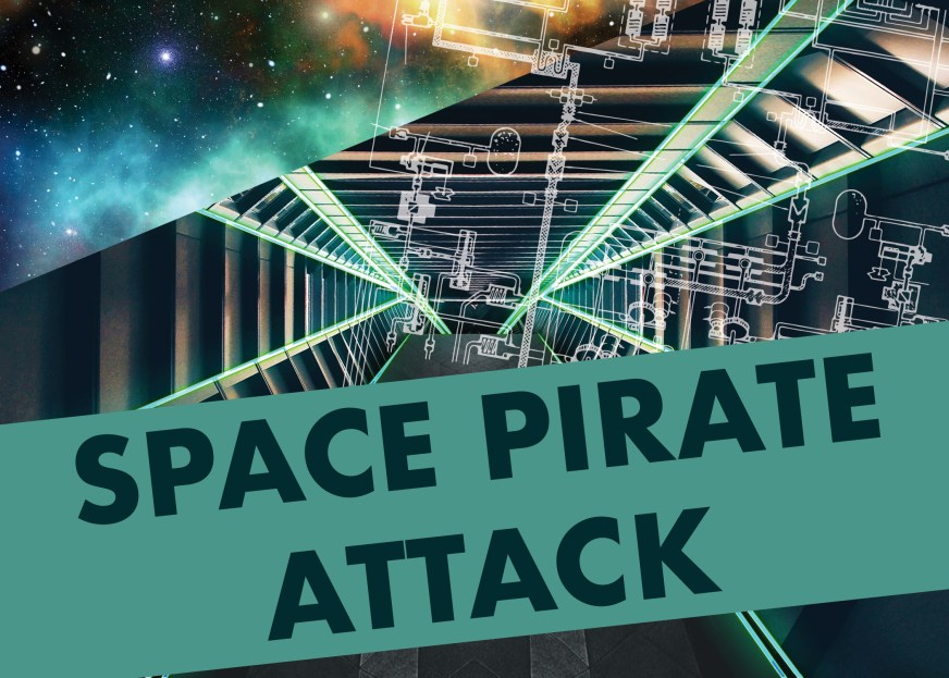 Space Pirate Attack DIY Escape Room Kit