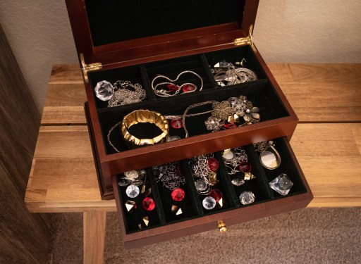 jewelry box hiding place for diy escape room