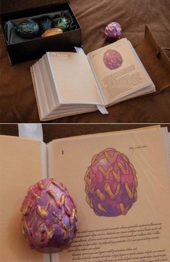 dragon egg clue for wizard escape room