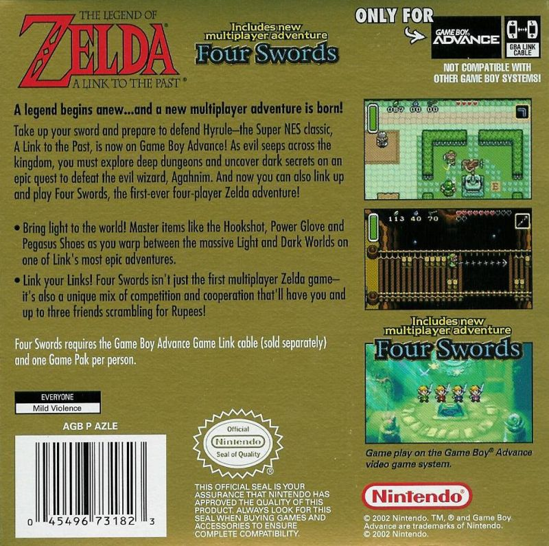 Legend of Zelda, The: A Link to the Past & Four Swords