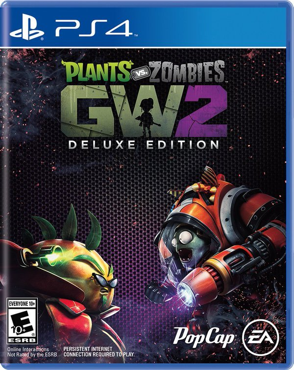 Plants Vs Zombies Garden Warfare 2 Deluxe Edition Box Art