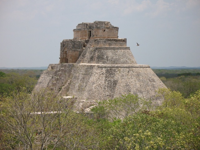 The Mayan ruins at Uxmal