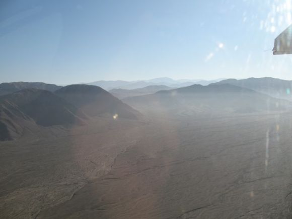 Peru UNESCO sites, World Heritage sites in Peru - view over the Nazca desert