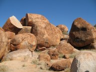 Devils marbles - a month in the Australian outback