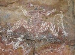 Kakadu aboriginal art - month in the Australian Outback