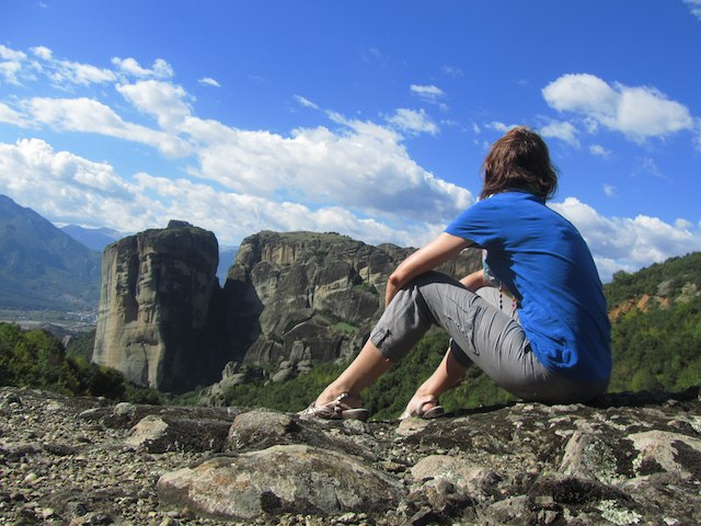 gap year reflections - Meteora, Greece