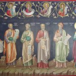 monasteries of Meteora - Byzantine artwork