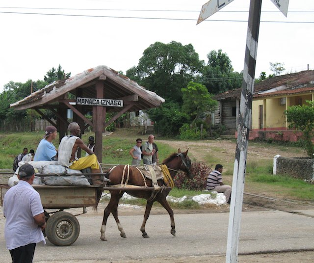 what to expect in Cuba: horse and cart