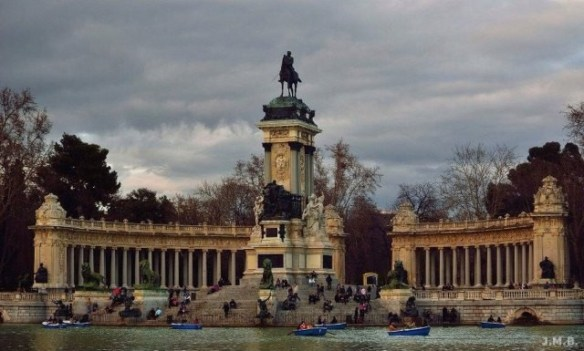 24 hours in madrid: Parque del Retiro