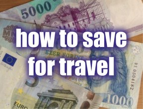 how to save for travel - The Gap Year Edit