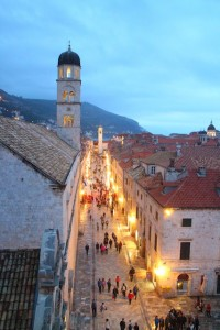 Travel by Instagram - Placa Street, Dubrovnik, Croatia