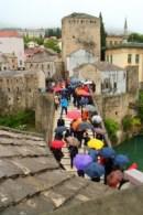 The Gap Year Edit Alternative Travel Awards - weather fail, Mostar, Bosnia-Hercegovina