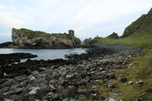 The sweeping bay around Kinbane Castle, Northern Ireland