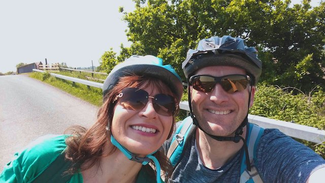 cycle helmets - Beningbrough Hall by bike - day trip from York