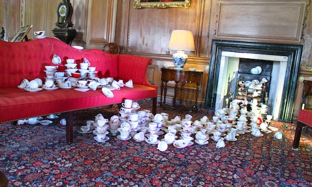 300 cups at Beningbrough Hall - a day trip from York