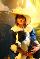 dress up for a portrait at Beningbrough Hall - a day trip from York