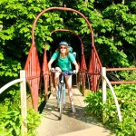 red bridge - Beningbrough Hall by bike day trip from York