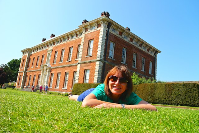 day trip from York - Beningbrough Hall by bike