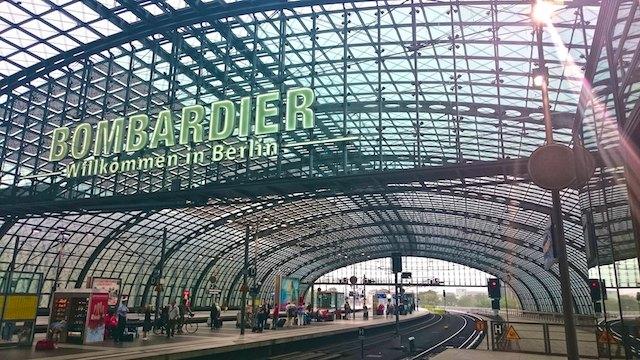 Berlin architecture walk Hauptbahnhof