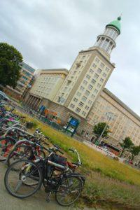 Berlin architecture walk Frankfurter Tor