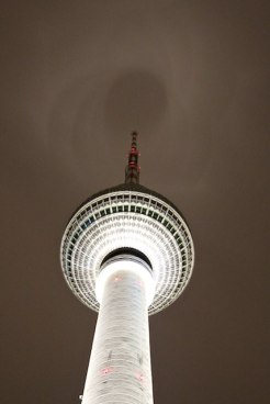 Best Berlin view TV Tower at night photo