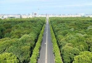 Berlin panorama Victory Tower views photos