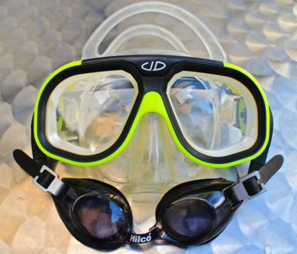 underwater prescription eyewear