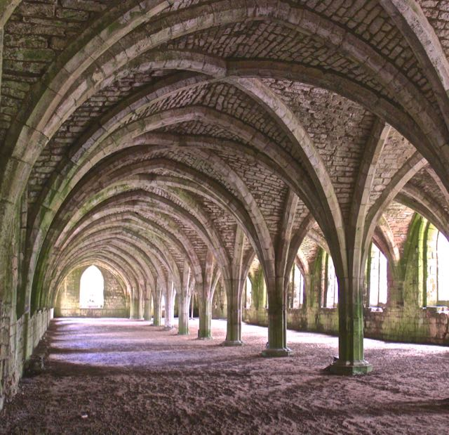 Fountains Abbey undercroft - The Gap Year Edit instagram pictures 2016