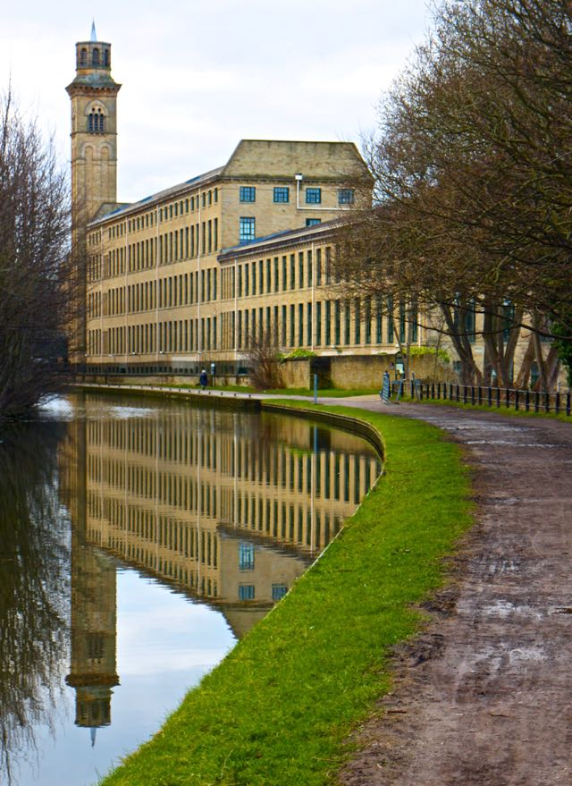 Saltaire canal reflections - The Gap Year Edit instagram pictures 2016