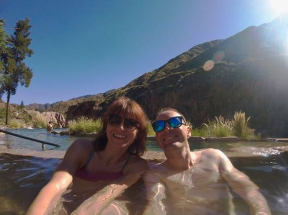 honeymoon at the Hotel & Spa Termas de Cacheuta hot springs